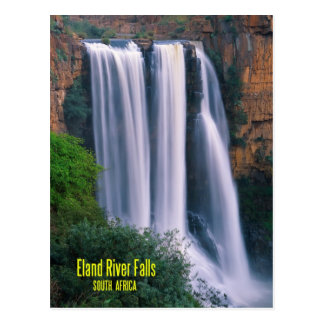 Elands River Falls, South Africa Postcard