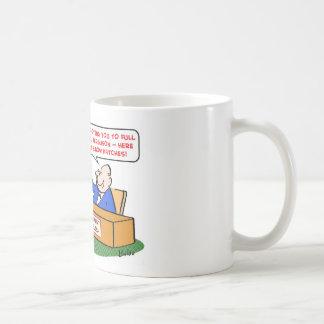 elbow patches promotion full professor mug