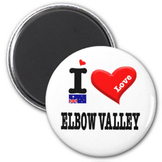 ELBOW VALLEY - I Love Magnet