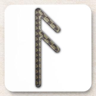 Elder Futhark Rune Asa Coaster