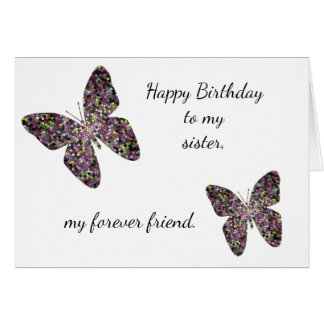 Elder Sister Birthday Wishes Funny Birthday Wishes Card