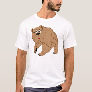 Elderly CaliBear, a real native T-Shirt