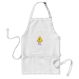 Elderly People At Work Standard Apron