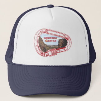 Eldorado Canyon Climbing Carabiner Trucker Hat