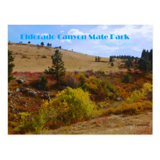 Eldorado Canyon State Park Colorado Postcard