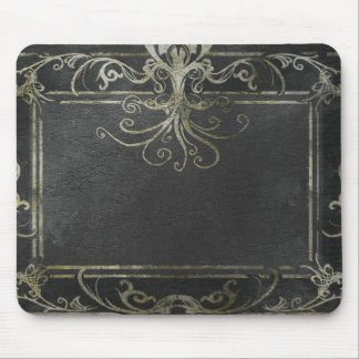Eldrich Mouse Mat (Black and Gold)