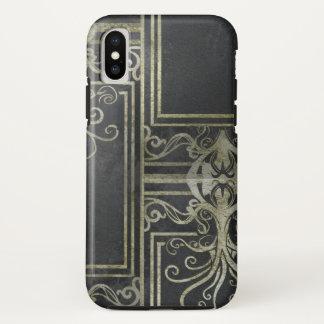 Eldrich Phone Case (Black & Gold) Tileing