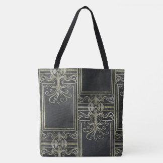 Eldrich Tote Bag (Black and Gold)