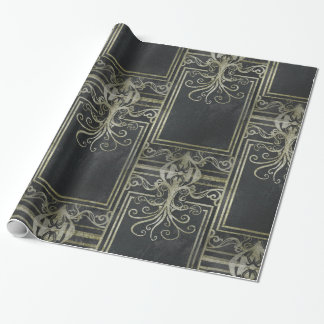 Eldrich Wrapping Paper (Black & Gold)