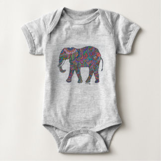 ele-infant baby bodysuit
