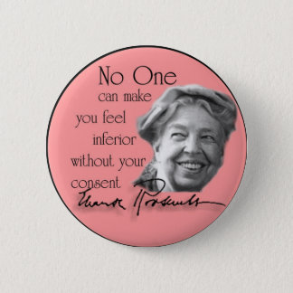 Eleanor Roosevelt - First Lady of the World 2 Inch Round Button