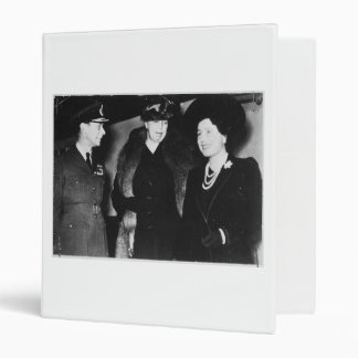 Eleanor Roosevelt King George VI Queen Elizabeth Vinyl Binders