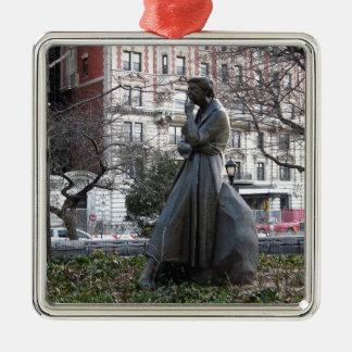 Eleanor Roosevelt Monument Metal Ornament