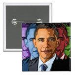 Elect Barack Obama For President 2 Inch Square Button