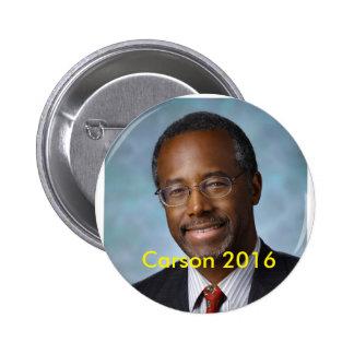 Elect Ben Carson 2016 2 Inch Round Button