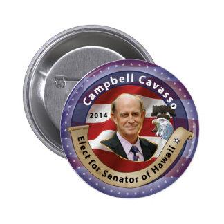 Elect Campbell Cavasso for Senator - 2014 Pins