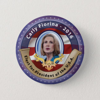 Elect Carly Fiorina for President - 2016 2 Inch Round Button