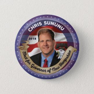 Elect Chris Sununu for Governor of New Hampshire 2 Inch Round Button