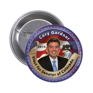 Elect Cory Gardner for Senator of Colorado - 2014 2 Inch Round Button