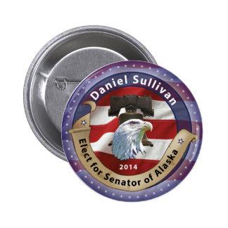 Elect Daniel Sullivan for Senator of Alaska - 2014 Pin