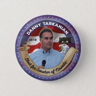 Elect Danny Tarkanian for Senator of Nevada 2 Inch Round Button