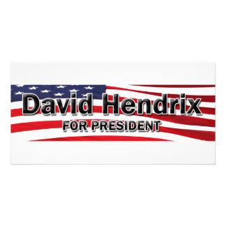Elect David Hendrix Photo Cards