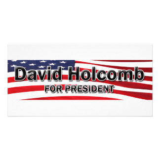 Elect David Holcomb Picture Card