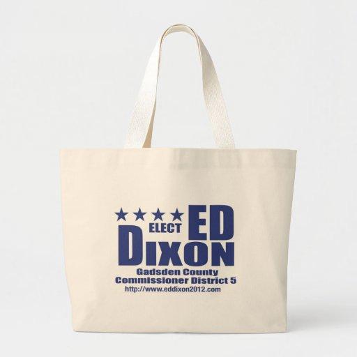 Elect Ed Dixon Tote Tote Bags