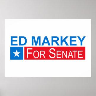 Elect Ed Markey Print