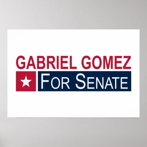 Elect Gabriel Gomez Poster