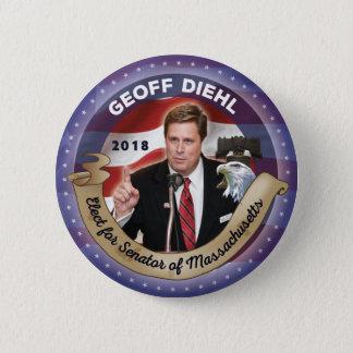 Elect Geoff Diehl for Senator of Massachuusetts 2 Inch Round Button