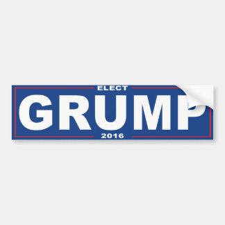Elect Grump 2016 - Bumper Sticker
