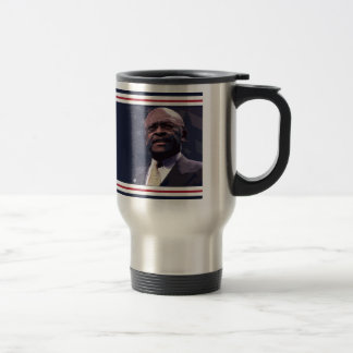 Elect Herman Cain 2012 Travel Mug
