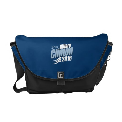 ELECT HILLARY CLINTON 2016 MESSENGER BAG