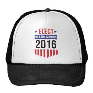 Elect Hillary Clinton Badge Trucker Hat