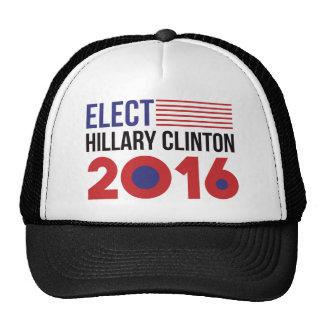 Elect Hillary Clinton Flag Trucker Hat