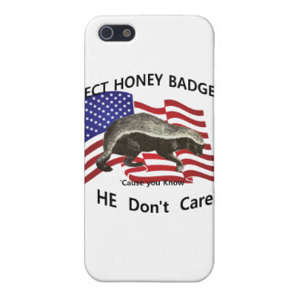 Elect Honey Badger Case For iPhone 5