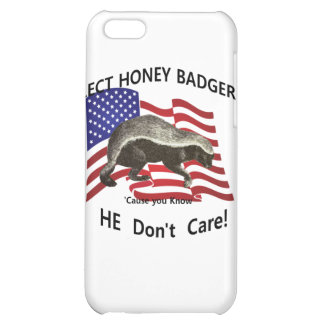 Elect Honey Badger iPhone 5C Cover