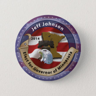 Elect Jeff Johnson for Governor of Minnesota 2 Inch Round Button
