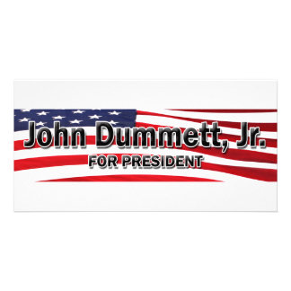 Elect John Dummett, Jr Photo Card