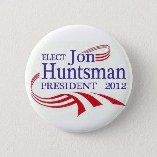 Elect Jon Huntsman 2012 2 Inch Round Button