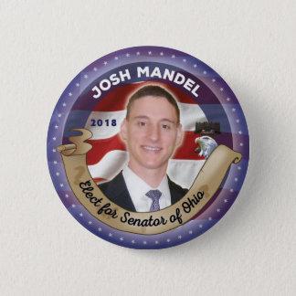 Elect Josh Mandel for Senator of Ohio 2 Inch Round Button