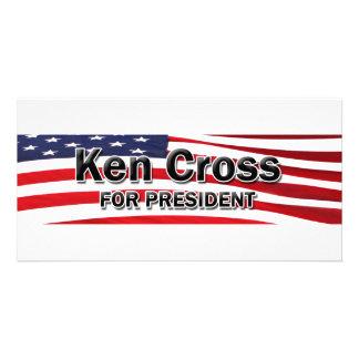 Elect Ken Cross Photo Card