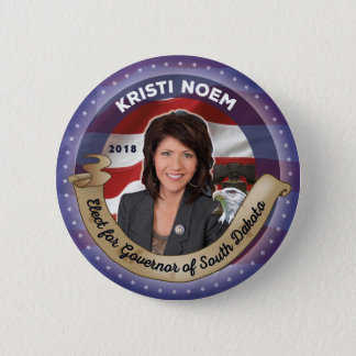 Elect Kristi Noem for Governor of South Dakota 2 Inch Round Button