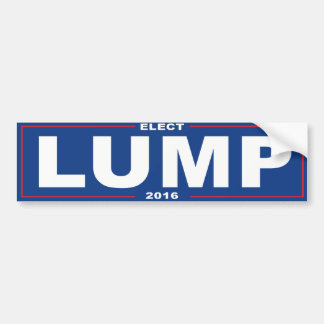 Elect Lump 2016 - Bumper Sticker