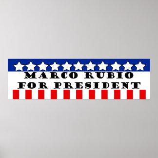 Elect Marco Rubio Poster