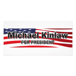Elect Michael Kinlaw Photo Card Template