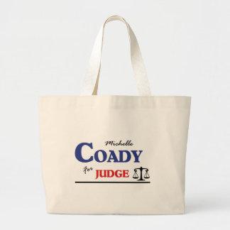 Elect Michelle Coady Circuit Judge Jumbo Tote Bag
