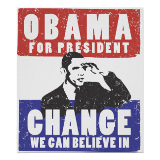 ELECT OBAMA 2008 POSTER