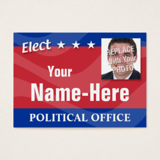 ELECT - Political Campaign Business Card